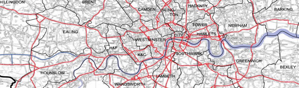 The TfL Road Network